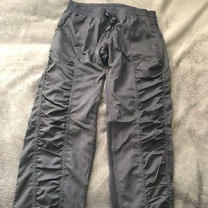 Black studio pants